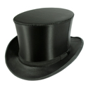 A beautiful top hat, sign of the successful man.