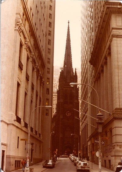 <I>Trinity Church stares down Wall Street with blame in its eyes.</I>
